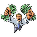 Ar tu gerai uždirbi pinigus?